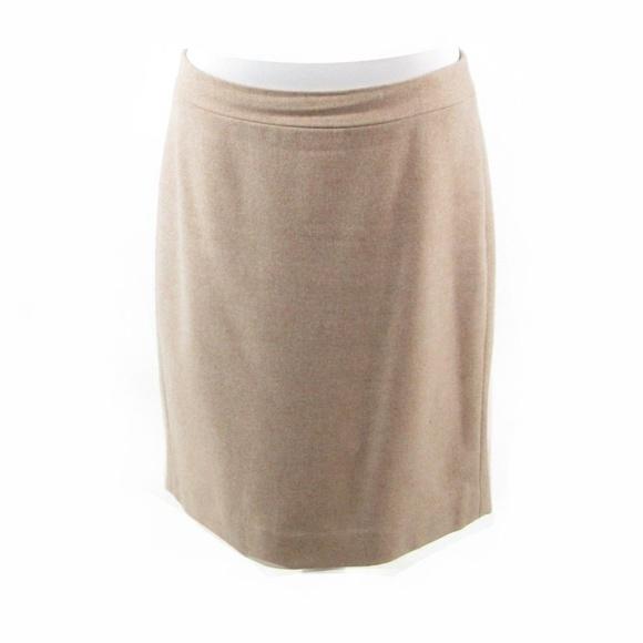 e614e63c0e7999 J. Crew Skirts | J Crew Beige Wool Blend Aline Skirt 8 | Poshmark